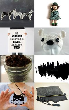 Dog, cat and ........ by Beata on Etsy--Pinned with TreasuryPin.com