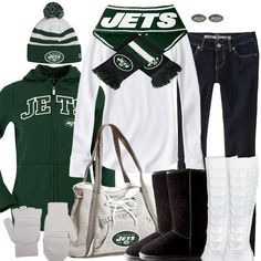 New York Jets Winter Fashion