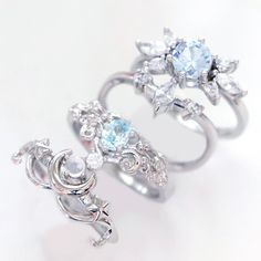 Star Jewelry, Girls Jewelry, Cute Jewelry, Jewelry Accessories, Sterling Silver Wedding Rings, Silver Engagement Rings, Piercing Ring, Piercings, Silver Necklaces