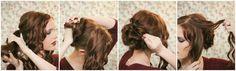 The Freckled Fox: Holiday Hair Week: The Fancy Bun