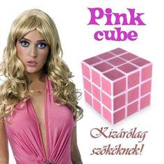 Ez a Rubik kocka szőke nős változata. Tökéletes ajándék ötlet nekik! A  bűvös kocka 1e6afa9918