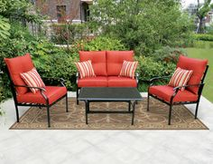 Menards Backyard Creations Piece Lucerne Deep Seating