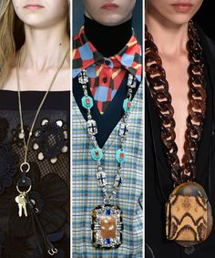 Fashion Trends We're Looking Forward to in 2017 - Long, Navel-Grazing Pendants from InStyle.com