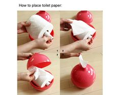 This toilet paper pot is so fabulous! I wonder if it would hold a double sized roll.  :)