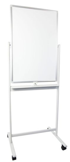 """VIVO Mobile Dry Erase Board 24"""" x 36"""" Magnetic / Double Sided Whiteboard Stand 