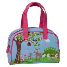 Woodland Handbag Bobble Art, Bowling Bags, Gifts For Girls, Bag Accessories, Toddler Girl, Woodland, Diaper Bag, Lunch Box, Baby
