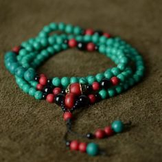 Vintage Agate and Turquoise Beads Bracelet for Women,Teen Girls