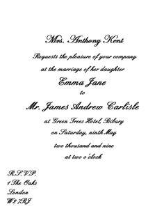 Wedding invitation etiquette Becoming husband wife Pinterest