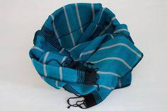 Kybele Herbal Silk Scarf - Karibik turquoise Turkish Towels, Baby Car Seats, Herbalism, Hand Weaving, Turquoise, Silk, Colors, Design, Caribbean