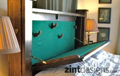Custom Furniture with Hidden Compartments - Zint Designs - Custom Texas Furniture - Hillsboro, TX