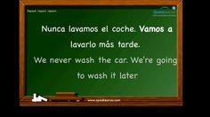 "Future with ""ir a"". Learn Spanish. Intermediate. Futuro con ""ir a"". www.speakeando.com"