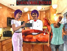 Zur Weihnachtsfeier der Cannibal Girls, gab es jedes Jahr so einen saftigen, fetten Braten - sie jagten ihre Beute immer erfolgreich, übrigens, sie haben mich dieses Jahr zum Essen eingeladen