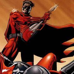 More graphic novel art from Crimson Empire