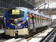 #ChennaiMetro Rail starts operation today, Chennaiites enjoy first day first ride in #Chennai.