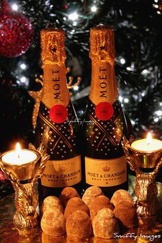 Moet Champagne for Christmas