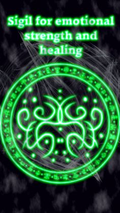 Sigil for emotional strength and healing