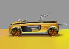 "This summer, ""L'Optimum"" men's magazine gave free rein to to… Car Design Sketch, Car Sketch, Car Side View, Male Magazine, Car In The World, Transportation Design, Car Ins, Concept Cars, Sketches"