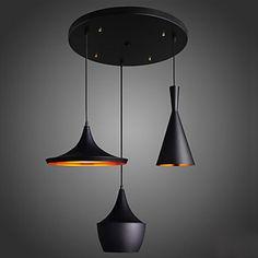 Candelabre Stil Minimalist Modern/Contemporan Sufragerie/Dormitor/Cameră de studiu/Birou Metal – EUR € 199.99
