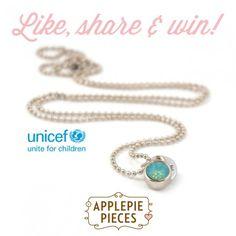 Een heel lieve Joy winactie deze week: maak kans op een UNICEF ketting voor iemand anders! Dat is nog eens een vriendelijke daad :)