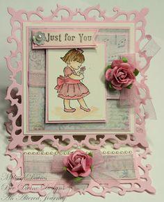 an easel card