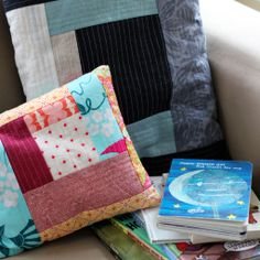 Making a Memory Pillow   a mini-magazine from Crafting Connections