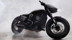 A limited edition motorcycle inspired by a jet plane.
