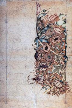 best Ideas for art nouveau design william morris William Morris Wallpaper, William Morris Art, Morris Wallpapers, Art Deco, Art Nouveau Design, Art And Craft Design, Design Crafts, Design Art, William Morris Patterns