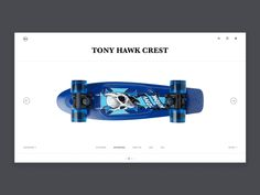 skateboard web designed by ZC for UDS. Connect with them on Dribbble; the global community for designers and creative professionals. Ui Design Inspiration, Blog Design, Best Ui Design, Web Mobile, Energy Services, Sketch Design, Layout Design, Ui Animation, Music Station