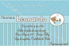 Arte de Convite Leonardo
