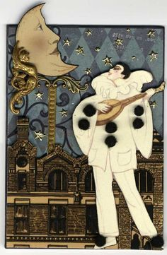 Au Claire de la luna, mon ami Pierrot..