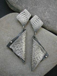 Earrings | Clare Bridge.  Silver