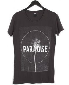Paradise T-Shirt Vintage Black