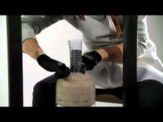 Meshmatics by Rick Tegelaar. Enjoy this video showcasing how this designer makes lamps out of simple chicken wire.
