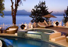 Seascape, the finest beachfront luxury holiday villa in Barbados. Sleeps 20