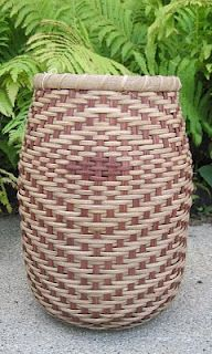 Hand Woven Basked by Janet Olney of Willmar, MN