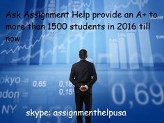 Looking for finance assignment help? Send requirements at support@askassignmenthelp.com to get high quality finance exam help by professional writers