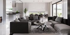 Projekt domu HomeKONCEPT-26 | HomeKONCEPT Outdoor Furniture Sets, Outdoor Decor, Bungalow, House Plans, Couch, Modern, Kitchen, Table, Farm 2