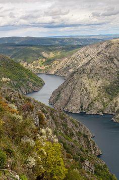 Cañón do Sil, Ribeira Sacra - #Galicia, #Spain