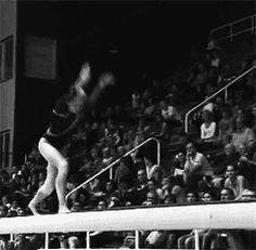 Four Beam Acro Series Worth 0.2 Connection Bonus (GIF) « WOGymnastika