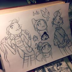 Anna Cattish #sketching #mimithegirl