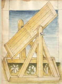 Bellifortis VerfasserKyeser, Conradus  ErschienenElsaß, [um 1460] Ms. germ. qu. 15  Folio 23r