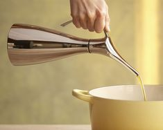 Curtis Stone Stainless-Steel Oil Can #williamssonoma