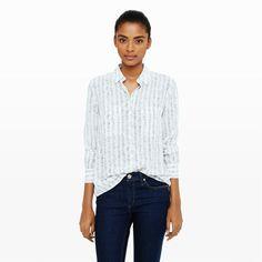 Women | Maraie Silk Print Shirt | Club Monaco