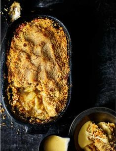 Try our traditional old-school apple crumble recipe. This easy apple crumble recipe is a great dessert using baked Bramley apples. This quick and easy apple recipe with crumble topping would go well with dollop of custard. Easy Apple Crumble, Apple Recipes Easy, Baking Recipes, Dessert Recipes, Cooking Apple Recipes, Bramley Apple Recipes, Pub Recipes, Pudding Recipes, Cheesecake Recipes