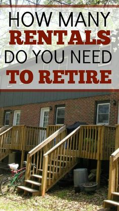 Do you want to use rental properties to fund some or all of your retirement? This article shares detailed examples and step-by-step instruction how to do it