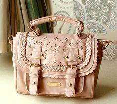3 colors Sweet Lace vintage Pierced Bag