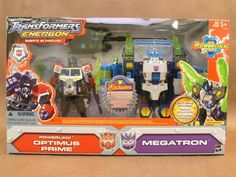 Transformers Energon OPTIMUS PRIME Powerlinx  MEGATRON  ToysRUs Exclusive *** You can find out more details at the link of the image.