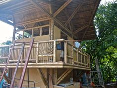 Costa Rica  bamboo house