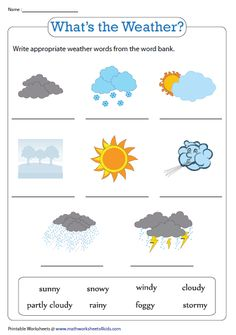 What's the weather? English Activities For Kids, English Grammar For Kids, Learning English For Kids, English Worksheets For Kids, English Lessons For Kids, Kids English, Preschool Learning Activities, Math For Kids, Teaching English