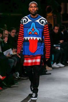 Male Fashion Trends: Givenchy Fall-Winter 2017 - Paris Fashion Week